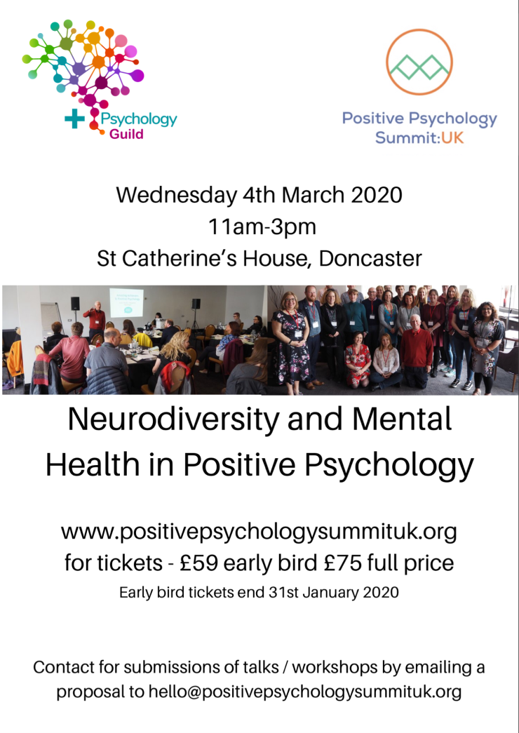 Theme - Positive Psychology and Neurodiversity and Mental Health